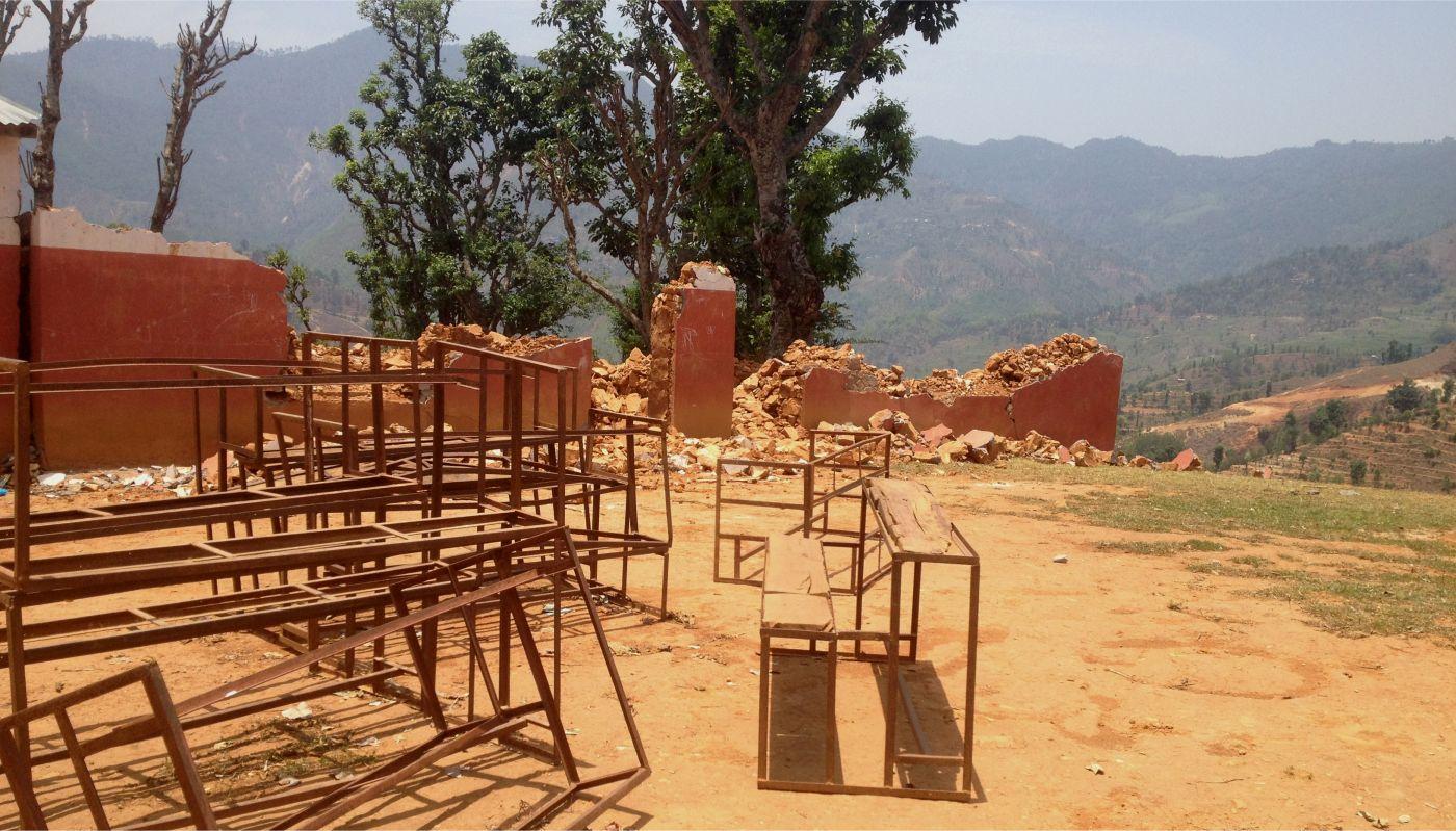 Schulhaus in Taruka