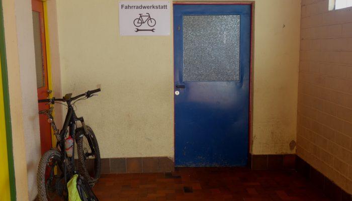 Treffpunkt: Fahrradwerkstatt